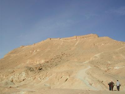 La forteresse de Sadr (Egypte, cl. 2003)