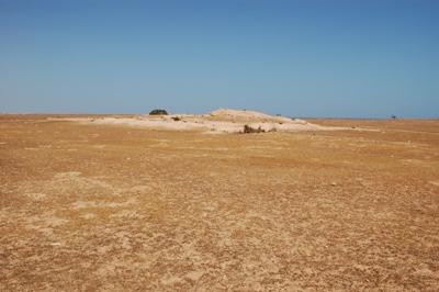 Vue générale du fort sud-ouest de la ville de Surt (Libye, cl. 2009)